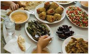 Food recipe for ramadan iftar and sehri in the islamic date book throughout the w month faithful observers of islam fast from dawn sahour to sundown iftaar during the fast no food forumfinder Images